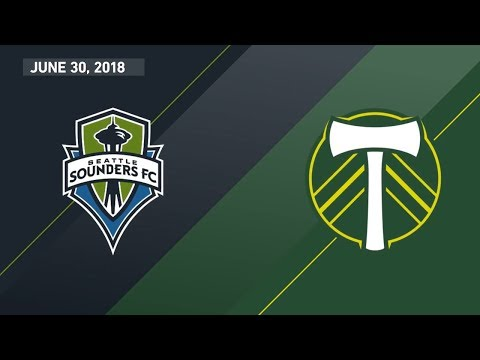 HIGHLIGHTS: Seattle Sounders FC vs. Portland Timbe...