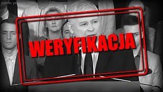 Dwie twarze Kaczyńskiego.