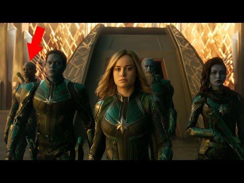 Captain Marvel Trailer #2 BREAKDOWN, Secrets and Easter Eggs - Rewind Theater