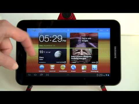 Samsung Galaxy Tab 7 Plus Review