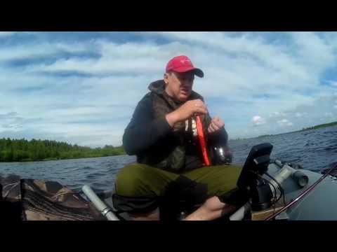 ловля на джиг судака на озере
