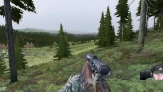 DayZ SA: Myshkino  900m sniper work