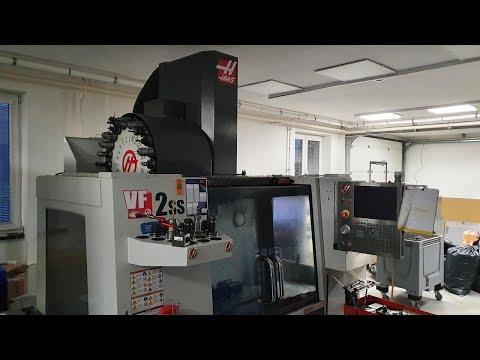 Vertikal CNC Fräszentrum HAAS VF-2SS 2015