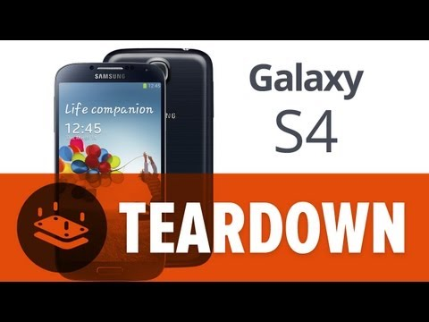 0 Samsung Galaxy S4 Teardown