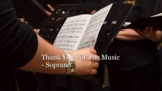 Thank You For The Music Soprano