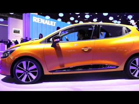 New Renault Clio sneak preview – Paris Motor Show 2012
