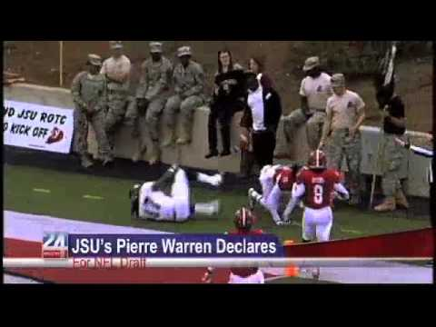 Pierre Warren to Enter NFL Draft video.