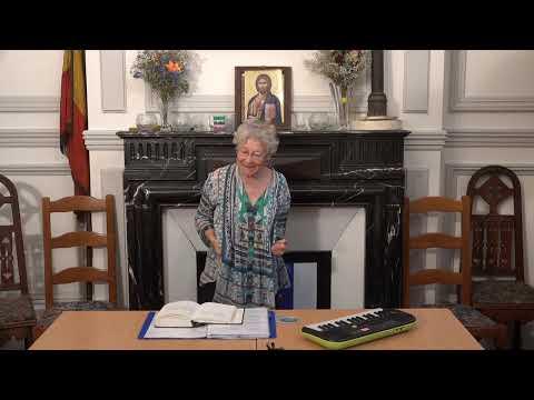 CDS Paris, 27 juin 2019: Hélène Sejournet - Mémorisation de l'évangile