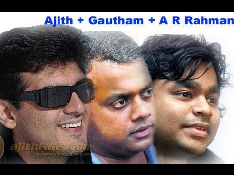 Ajith & Gautham Menon join for the movie produced by A.M.Rathnam | Arrambam | Tamil Cinema News