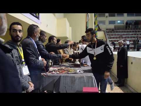 فريق (الجزيرة) يتوج ببطولة ليبيا لفئة الأوسط في كرة اليد