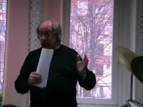 2007-Dec-6 Творческая встреча с Владимиром Васильковым / Vladimir Vasilkov Master Class