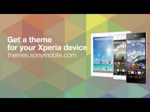 New Theme Portal released today with themes for Xperia devices [video]