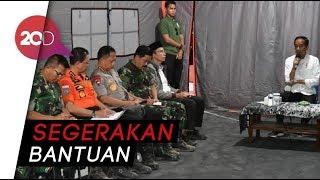 Video Instruksi Presiden dari Tenda Pengungsi  Gempa Lombok MP3, 3GP, MP4, WEBM, AVI, FLV Agustus 2018