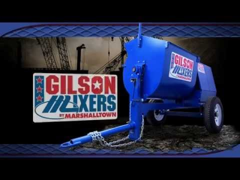 Gilson by Marshalltown Mortar Mixer Video
