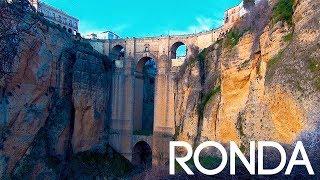 Ронда, Испания - город на краю пропасти!