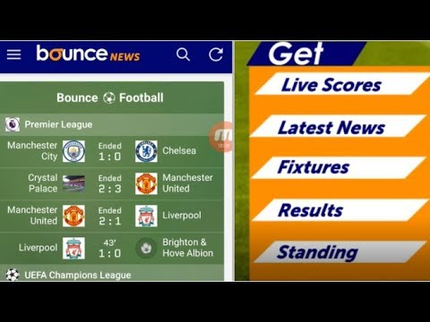 Russia 2018: How To Use The Bounce News Livescore Feature