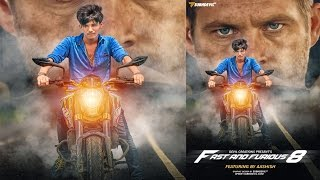 Nonton Photoshop Tutorial | poster design inspired by Fast and Furious movies Film Subtitle Indonesia Streaming Movie Download