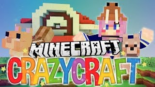 Animal Adoption! | Ep 35 | Minecraft Crazy Craft 3.0