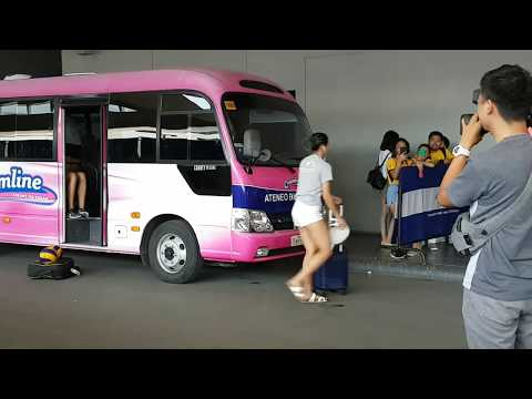 Ateneo Lady Eagles - Flawless and Beautiful (Arrived at the Players Entrance)