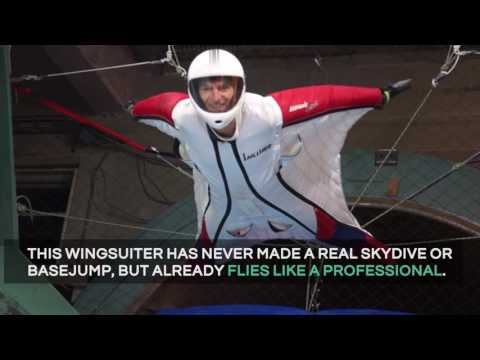 Indoor Wingsuit Flying