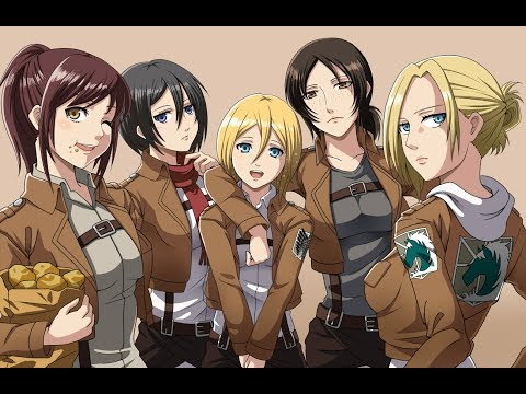 Attack on Titan Girls AMV-  One Woman Army