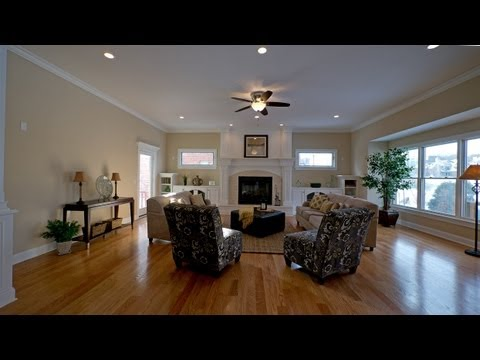 Staging a luxury home – before and after scenes