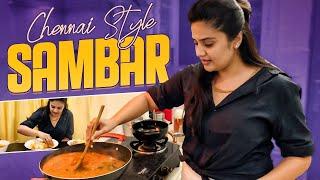 Chennai Style Sambar | Sambar Recipe | Sreemukhi Cookings | Latest Cooking Videos |