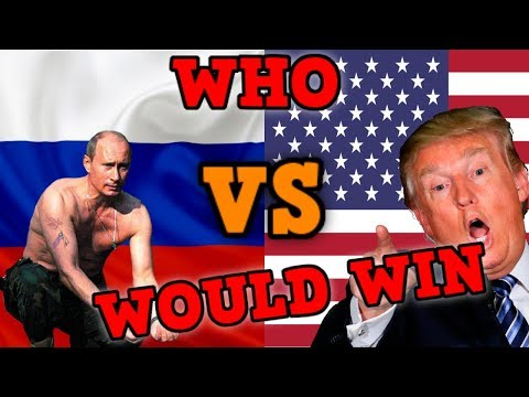 USA VS RUSSIA WHO WOULD WIN? [Hearts Of Iron 4] (видео)