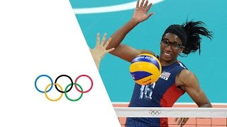 Volleyball Women's Preliminary - Pool B - Korea v USA Full Replay -- London 2012 Olympic Games