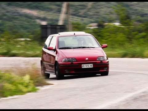 fiat punto gt drive experience