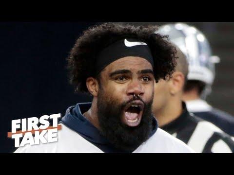 Video: The Cowboys' playoff chances hinge on Ezekiel Elliott - Domonique Foxworth | First Take
