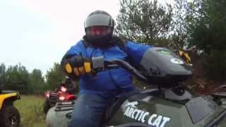 5. Real Riders: 2013 Arctic Cat 500 Core ATV test ride.