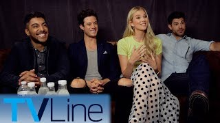 "Andy Swift interviews the cast of ""Stitchers"" in San Diego. ► http://bit.ly/TVLineSubscribehttp://tvline.comFollow Us On SocialTwitter http://twitter.com/MichaelAusiello, http://twitter.com/TVLineFacebook http://www.facebook.com/pages/TVLineGoogle+ http://plus.google.com/+TVLine"