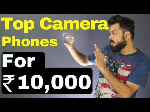 TOP 5 BEST CAMERA / SELFIE MOBILES FOR Rs. 10000/- (2017 )