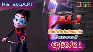 Video EJEN ALI SEASON 2 | MISI: AKEDEMI MP3, 3GP, MP4, WEBM, AVI, FLV Januari 2019
