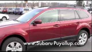 2011 Subaru Outback Dealer Review Puyallup, WA