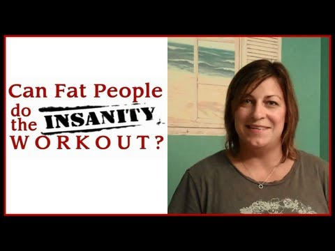 #2 CAN FAT PEOPLE DO THE INSANITY WORKOUT? – WEEK TWO RESULTS