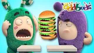 Video Oddbods NEW   FOOD FIASCO #5   Funny Cartoons For Kids   The Oddbods Show MP3, 3GP, MP4, WEBM, AVI, FLV Juli 2018
