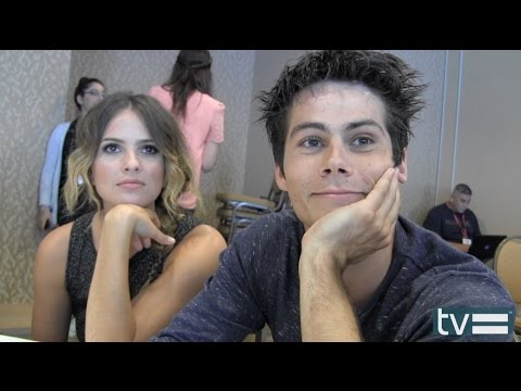 Obrien - Dylan O'Brien (Stiles) and Shelley Hennig (Malia) aka Stalia talk about what's coming up in Season 4 MTV's Teen Wolf at Comic-Con 2014. Teen Wolf on TV Equal...