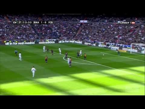 Real Madrid.vs.Barcelona.1 tiempo Liga BBVA