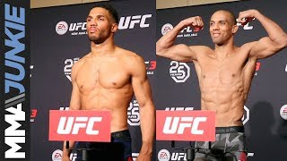 UFC Fight Night 128 official weigh-in highlight