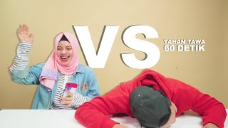 Video Receh Battle 60 Detik Battle| Thariq Halilintar VS Sajidah Halilintar MP3, 3GP, MP4, WEBM, AVI, FLV April 2019