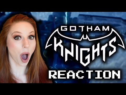 Batman: Gotham Knights - Official World Premiere Reveal Trailer REACTION   DC Fandome