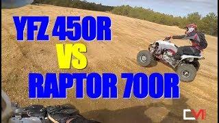 3. 2018 Yamaha YFZ450R vs RAPTOR 700R