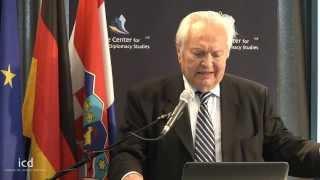 Zvonimir Paul Separovic, Former Minister of Justice of Croatia