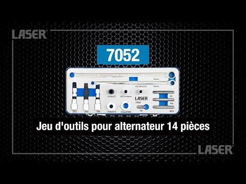 7052 Jeu d'outils pour alternateur 14 pièces