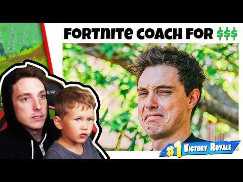 i became a fortnite coach_Legjobb videójáték videók