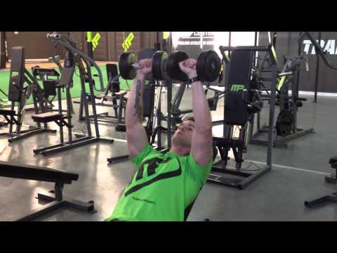 Incline Dumbbell Bench Press - 5 COUNT METHOD