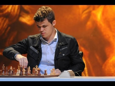 Magnus Carlsen in Lillehammer, Norway  Part 1
