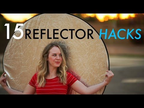 15 Hacks for using Reflectors in Video